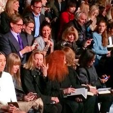 #WTF Fashion Week : Anna Wintour au second rang