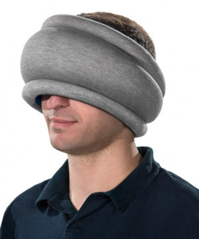 l'Ostrich Pillow Lite