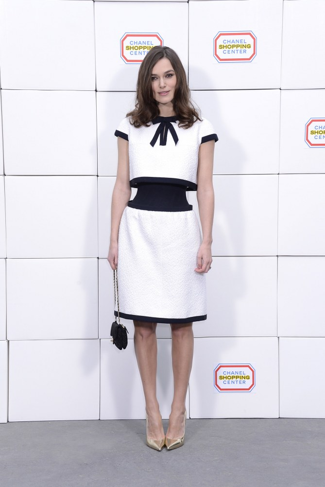 Keira Knightley au défilé Chanel