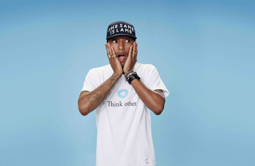 Pharrell Williams joue les stylistes pour Uniqlo