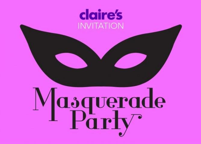Claire's Masquerade Party
