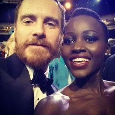 Lupita Nyong'o et Michael Fassbender en couple depuis la soirée des Oscars ?