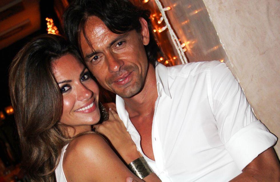 Pippo Inzaghi diviso tra Alessia Ventura e Cristina Buccino