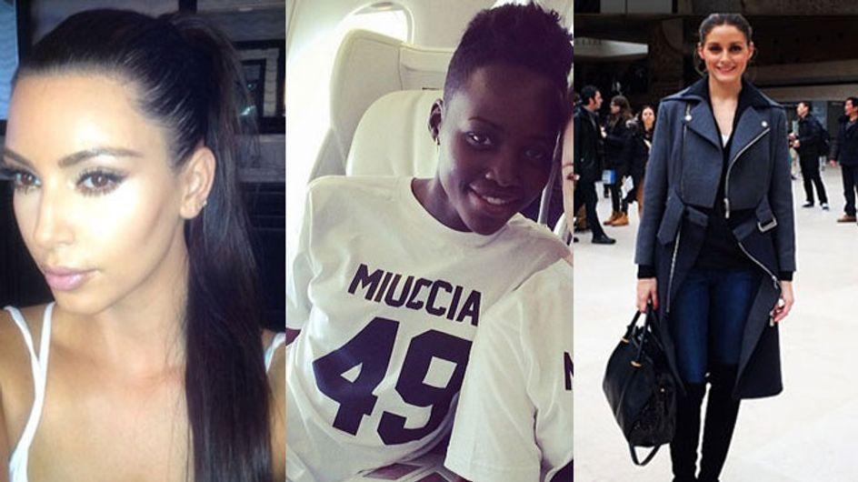 Kim Kardashian's Pony, Lupita Nyong'o's Prada Tee: This Week's Best Instagram Fashion