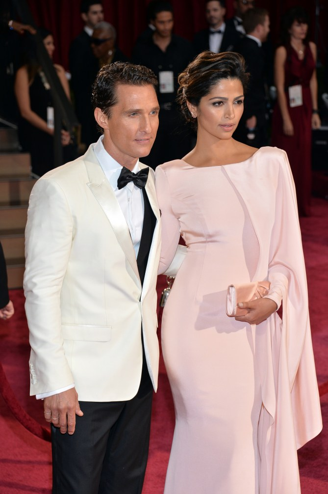Matthew McConaughey und Camila Alves bei den Oscars