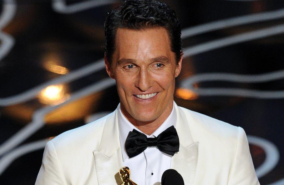 Wie süß! Matthew McConaughey dankt seiner Familie