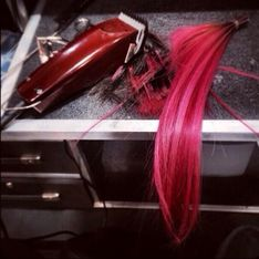 Demi Lovato : Elle se rase la tête (photos)