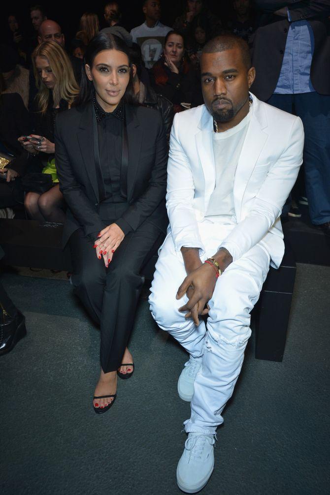 Kim Kardashian & Kayne West