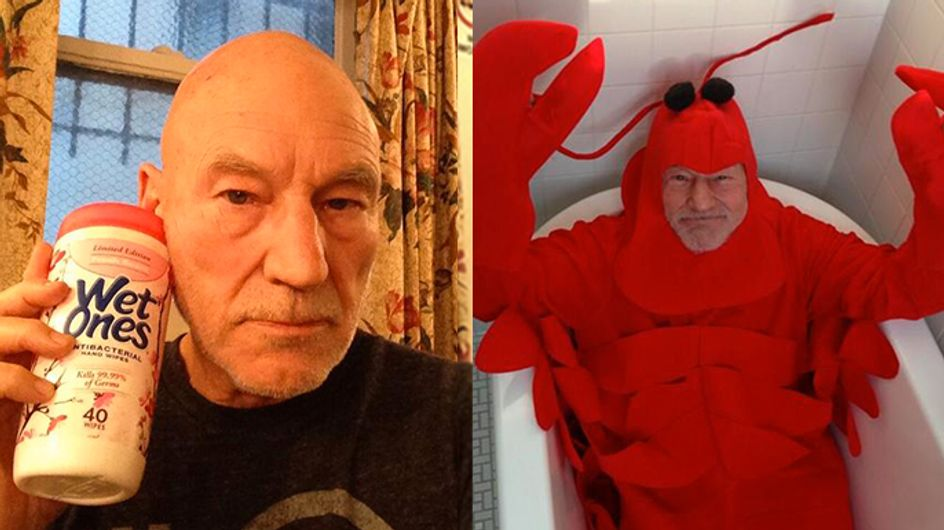 15 Reasons To Follow Patrick Stewart On Twitter