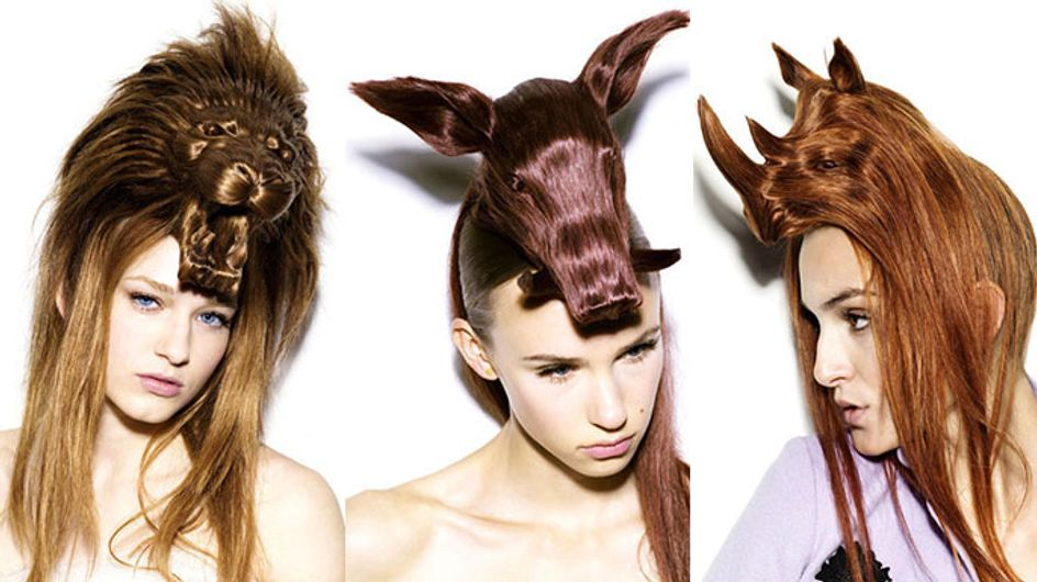 Forget About The Beehive. How About The Stag Do? Or The Rhino? Wild Hairstyles You Have To See To Believe