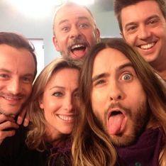 Jared Leto et Anne-Sophie Lapix : le selfie qui défie Ellen DeGeneres (Vidéo)