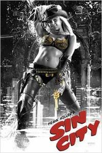 Jessica Alba dans Sin City en 2005
