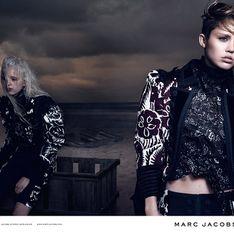 Miley Cyrus : Toujours aussi sombre pour Marc Jacobs (photos)