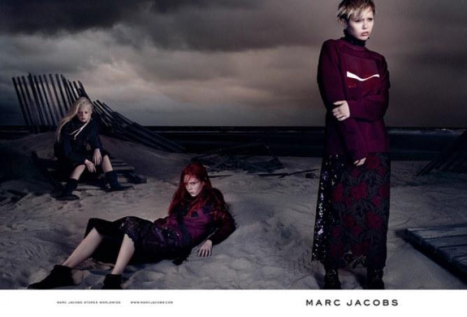 Miley Cyrus pour Marc Jacobs