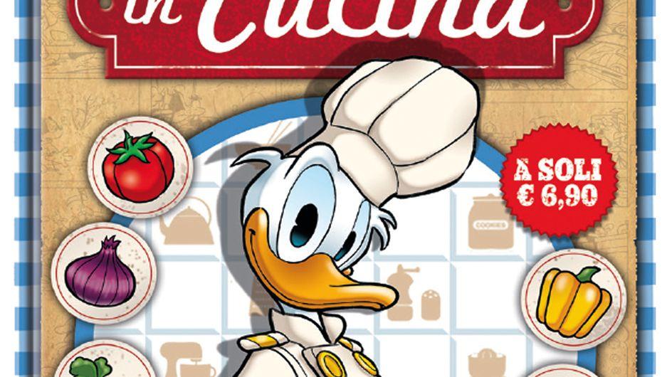 In cucina con Disney: 11 golose avventure a fumetti