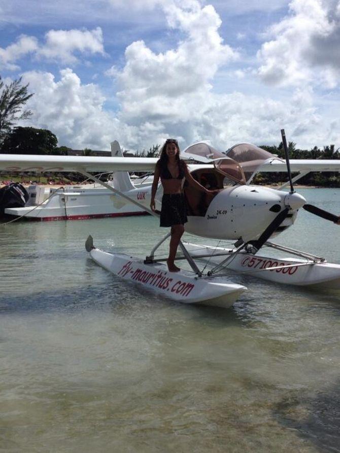 Marine Lorphelin s'envoie en l'air à l'île Maurice
