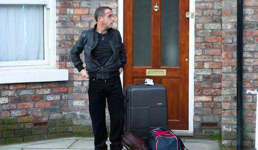 Kevin arrives back