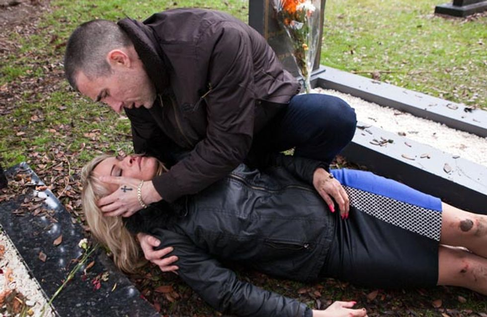 Hollyoaks 17/03 – Grace is in grave danger