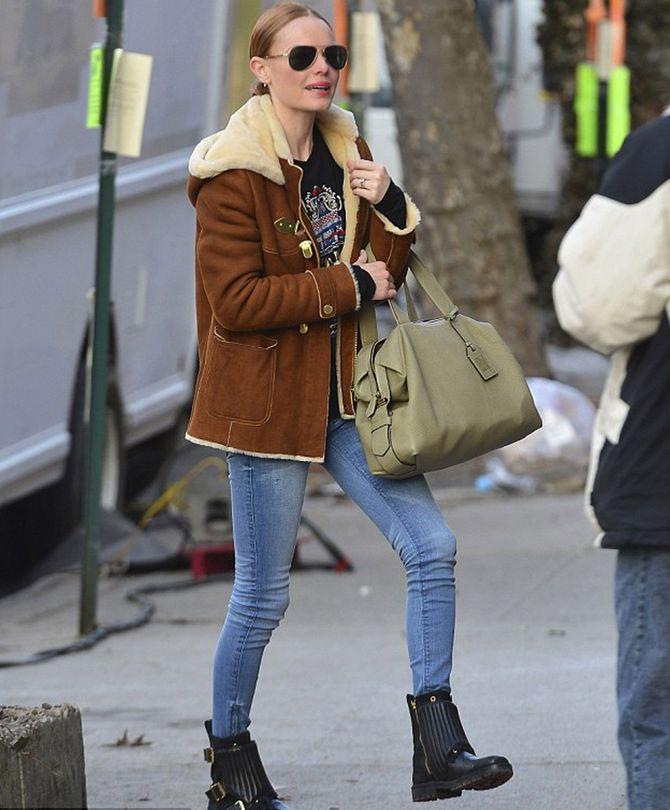 Kate Bosworth et ses boots ZAG BIKER DELUXE de Z&V