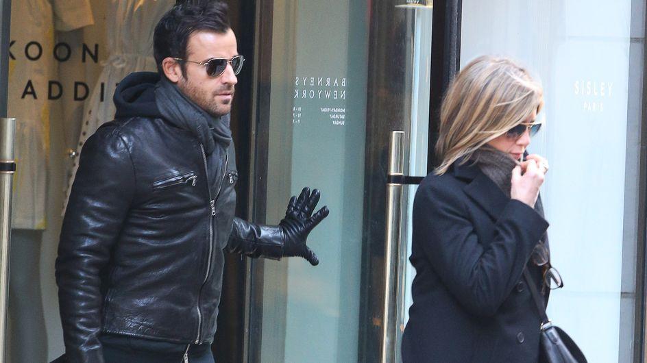 Aniston-Theroux ai ferri corti? Le foto della coppia annoiata e distante