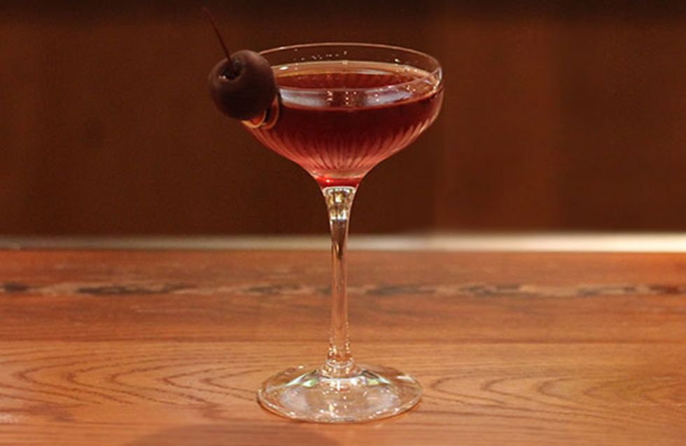 Cocktail Class: How To Make A Modern Manhattan