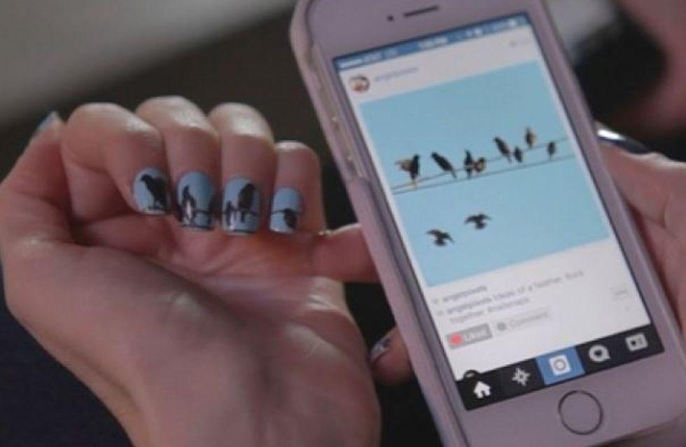 NailSnaps : Des ongles aux couleurs de vos photos Instagram