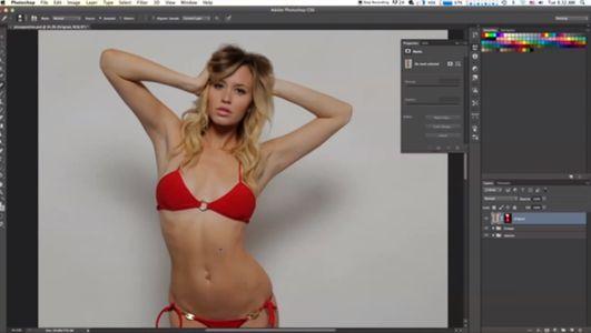 L'incroyable transformation d'un mannequin par Photoshop