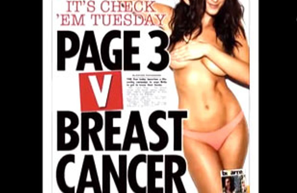 Breast Cancer Vs. Page 3: Another Very Good Reason To Back The Campaign