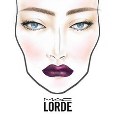 Lorde : Une collection dark pour M.A.C