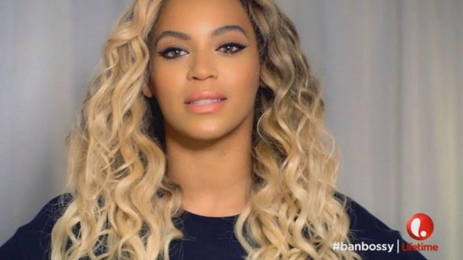 """Beyoncé pour """"Ban Bossy"""""""