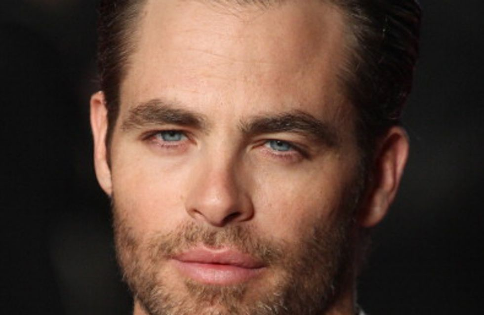 Armani Code prend les traits de l'acteur Chris Pine