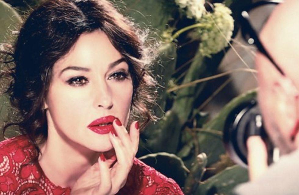 Monica Bellucci : Envoûtante pour les rouges à lèvres Dolce & Gabbana (photos)