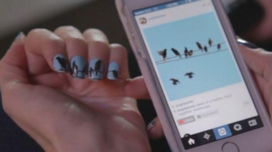 NailSnaps: uñas estampadas con tus fotografías de Instagram