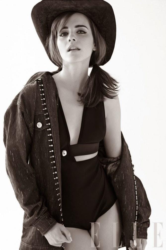 Emma Watson pour Elle US