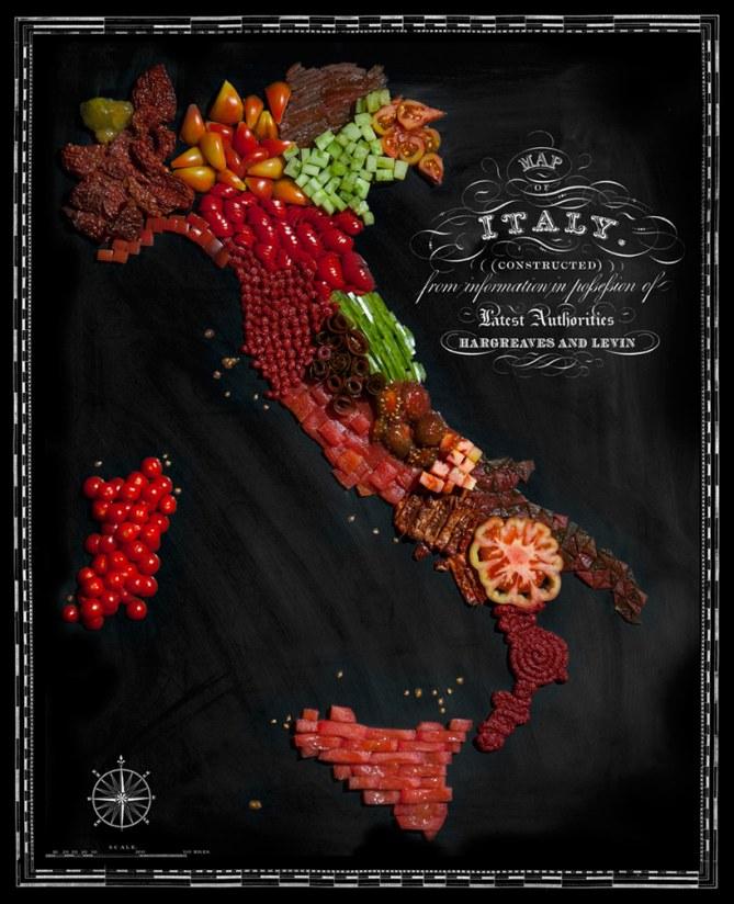 Food Maps: Italia