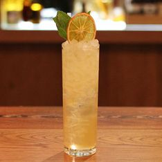 Cocktail Class: How To Make A Grand Marnier Collins