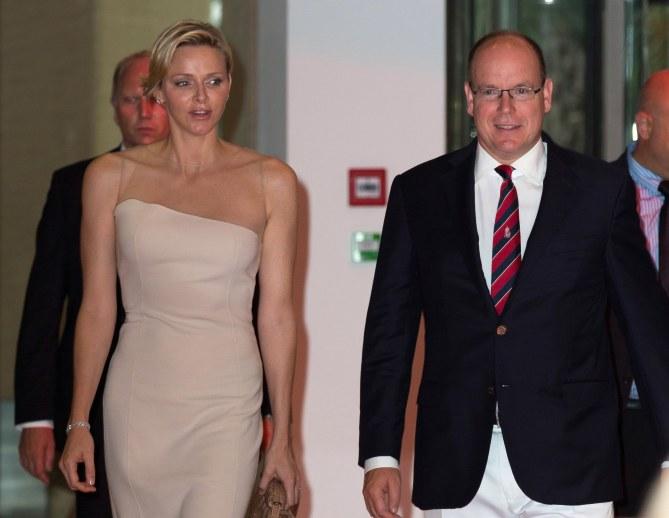 Charlène de Monaco et Albert