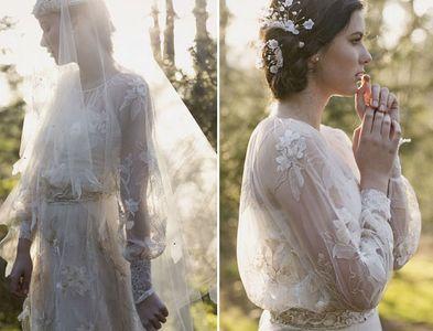 Vestido de noiva inspiração