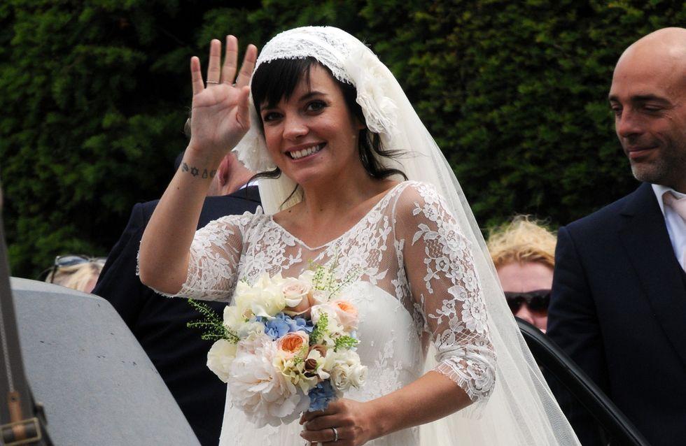 Oups ! Lily Allen avoue avoir perdu sa robe de mariée Chanel