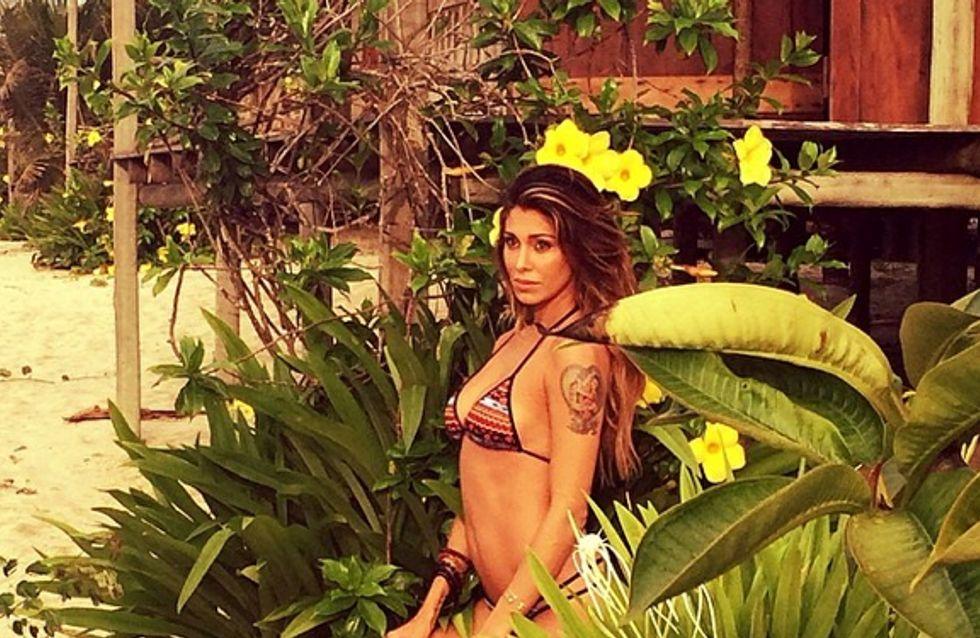 Belén in bikini in Brasile. Le sexy foto su Instagram