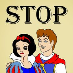 Violenza sulle donne: quando persino le Principesse della Disney ne sono vittime