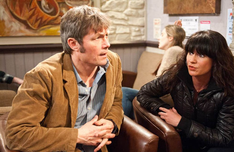 Emmerdale 27/03 – James is cagey about his previous relationships