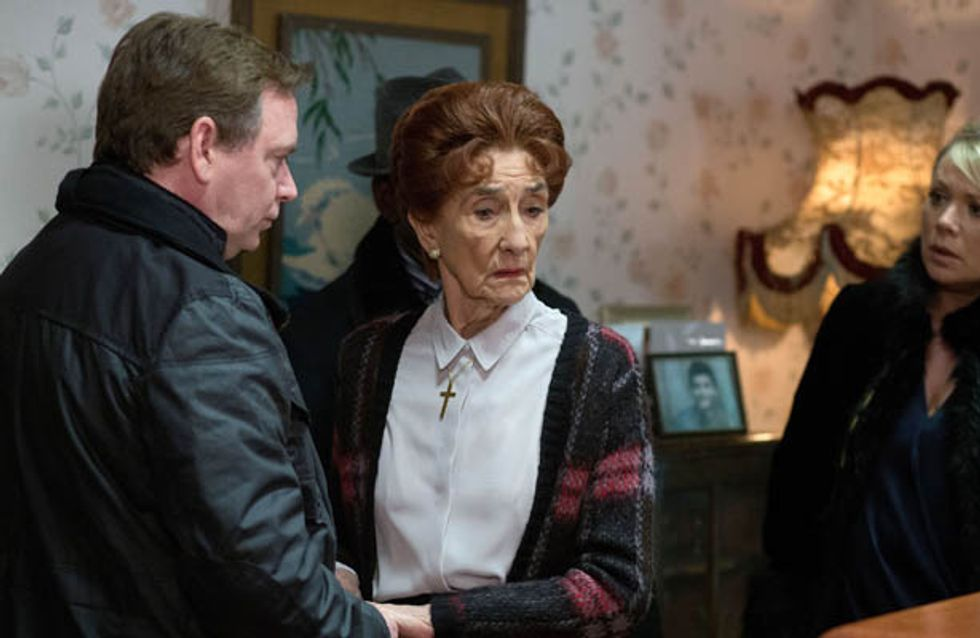 Eastenders 25/03 – Dot wants to open Nick's coffin