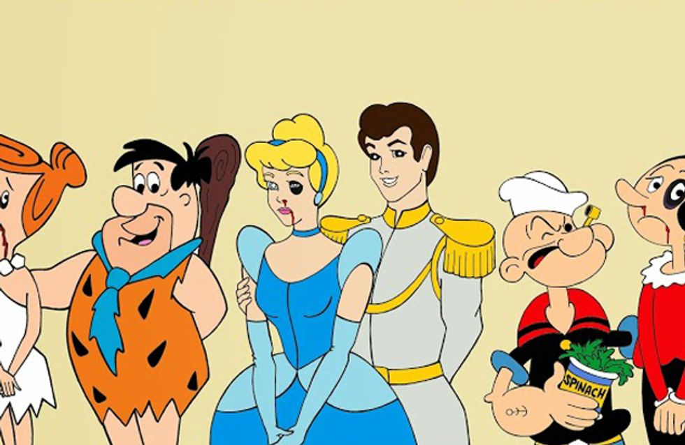 Fairytale relationships? Cartoon Couples Highlight Domestic Violence