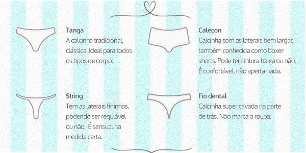 1700f4d72 Dicionário da lingerie  você conhece suas peças de underwear