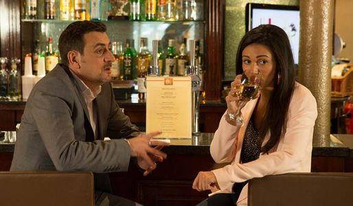 David interrupts Tina and Peter's affair