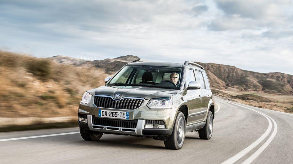 Le nouveau Yéti de Škoda : à la fois citadin et féminin