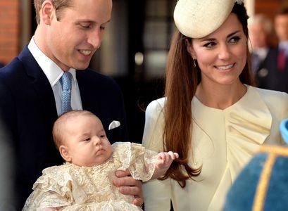 Prince George baptême