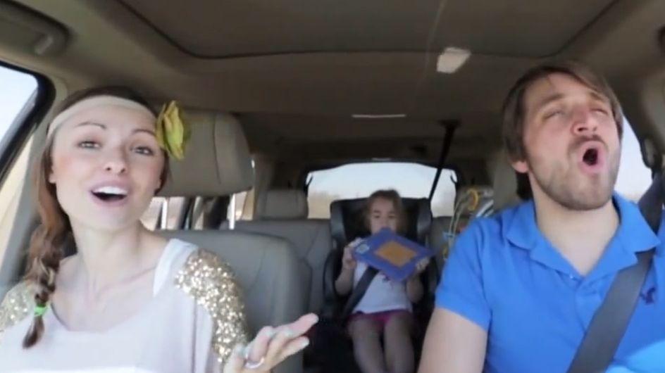 Ces jeunes parents semblent tout droit sortis d'un Disney ! (Vidéo)
