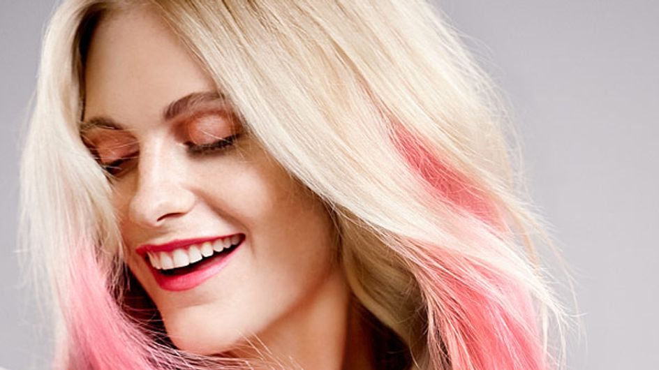 Think Pink: Trend-Haare sind jetzt Rosa!